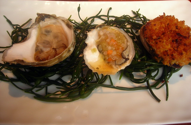 Trio of shellfish