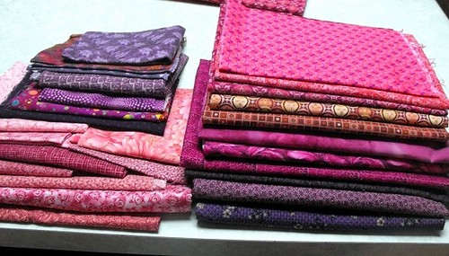 Mod Pop QAL fabrics 2