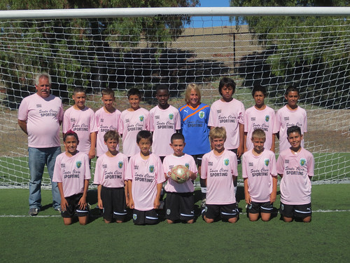 Santa Clara Sporting 00 Boys Green Team