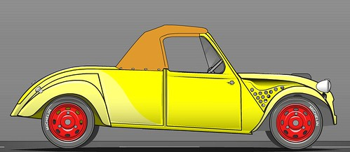 Citroen 2CV roadster