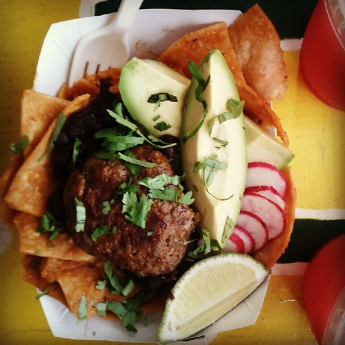 Chilequiles at Rockaway Taco