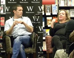 Declan Burke and Barbara Nadel