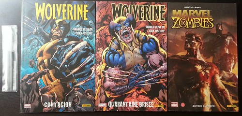 wolverine & Watch Marvel zombies