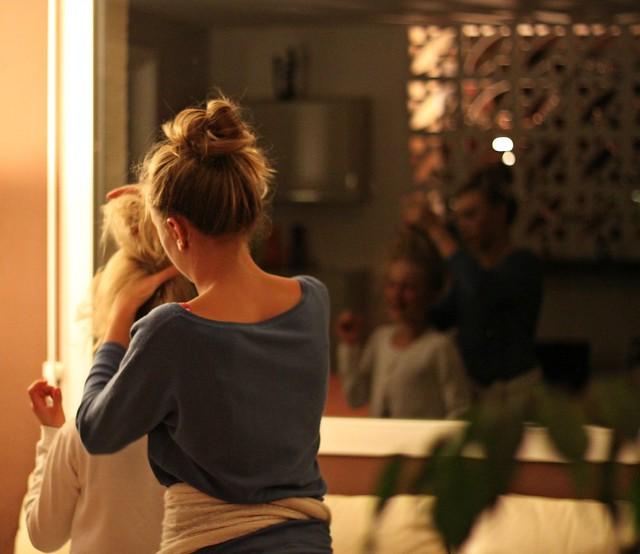 Cheveux de filles