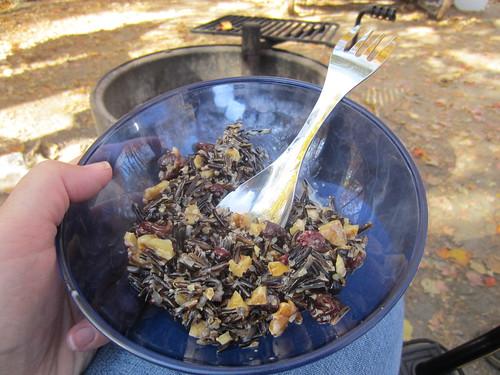 wild rice porridge