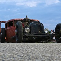 Spotted! '30 Ford Rat Rod, Woodward Ave, MI