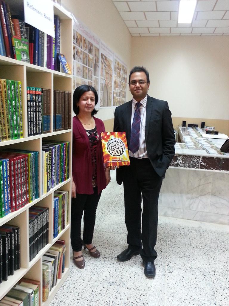 Shaylesh @ Kurdistan Library Opening