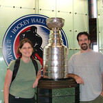 Jenn & Dave with the Stanley Cup