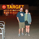 Dave and Jenn at the original Target