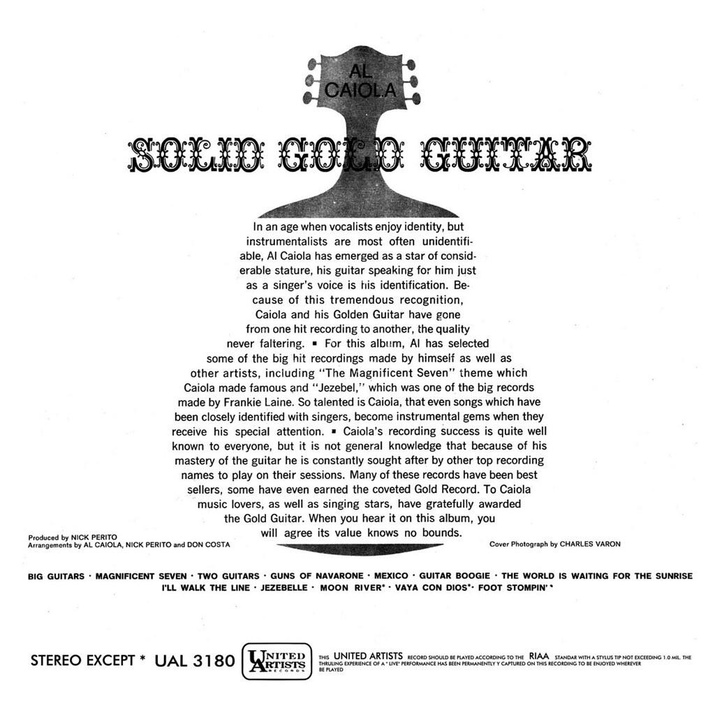 Al Caiola - Solid Gold Hits