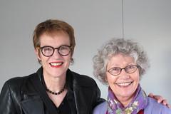 Joanne Drayton and Liz Grant