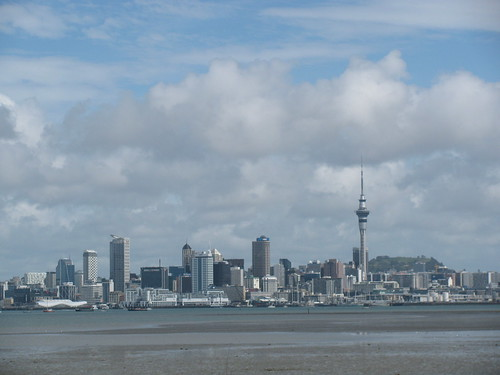 Auckland Cityscape by holidaypointau
