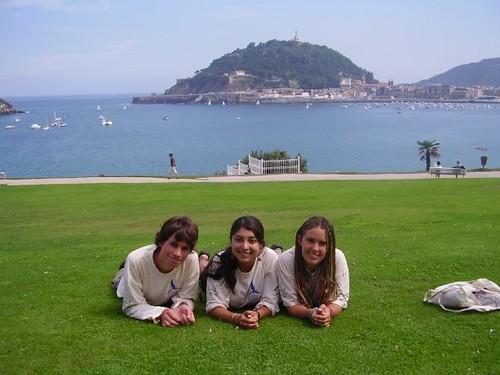 En el Palacio de Miramar (San Sebastián)