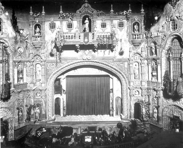 Stage at the Tampa Theatre