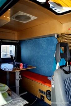 Working Mode - Globe Cruiser Surf Van