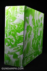 HGUC Kshatriya Pearl Clear (green) Binder Ver. Unboxing Pictures (2)