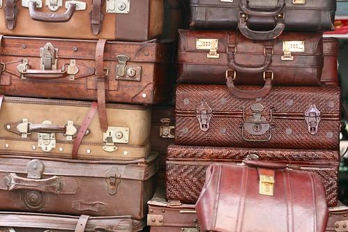 Luggage - Antique market, Shanghai