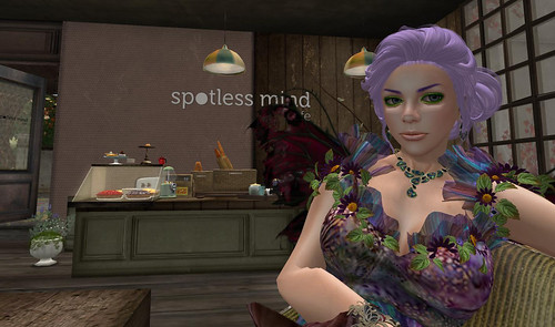 Fairy in spotless mind cafe