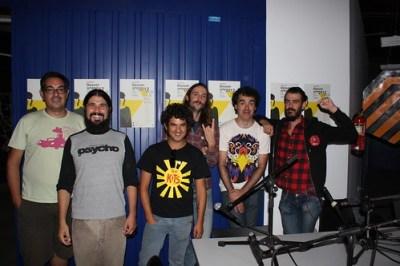 Con The Pulsebeats y The Drive Division en La Isla de Encanta