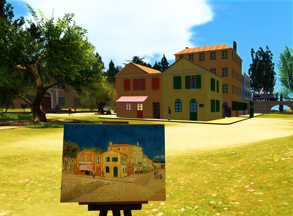 Arles: The Yellow House