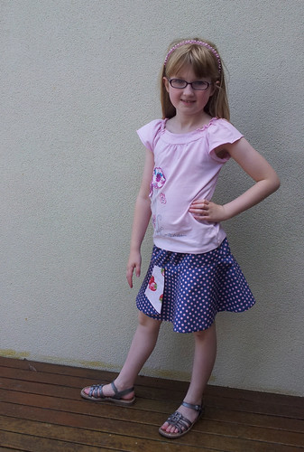 Hula Hoop skirt - size 8