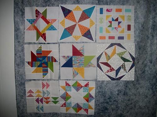 Moni's Pinwheels and Stars