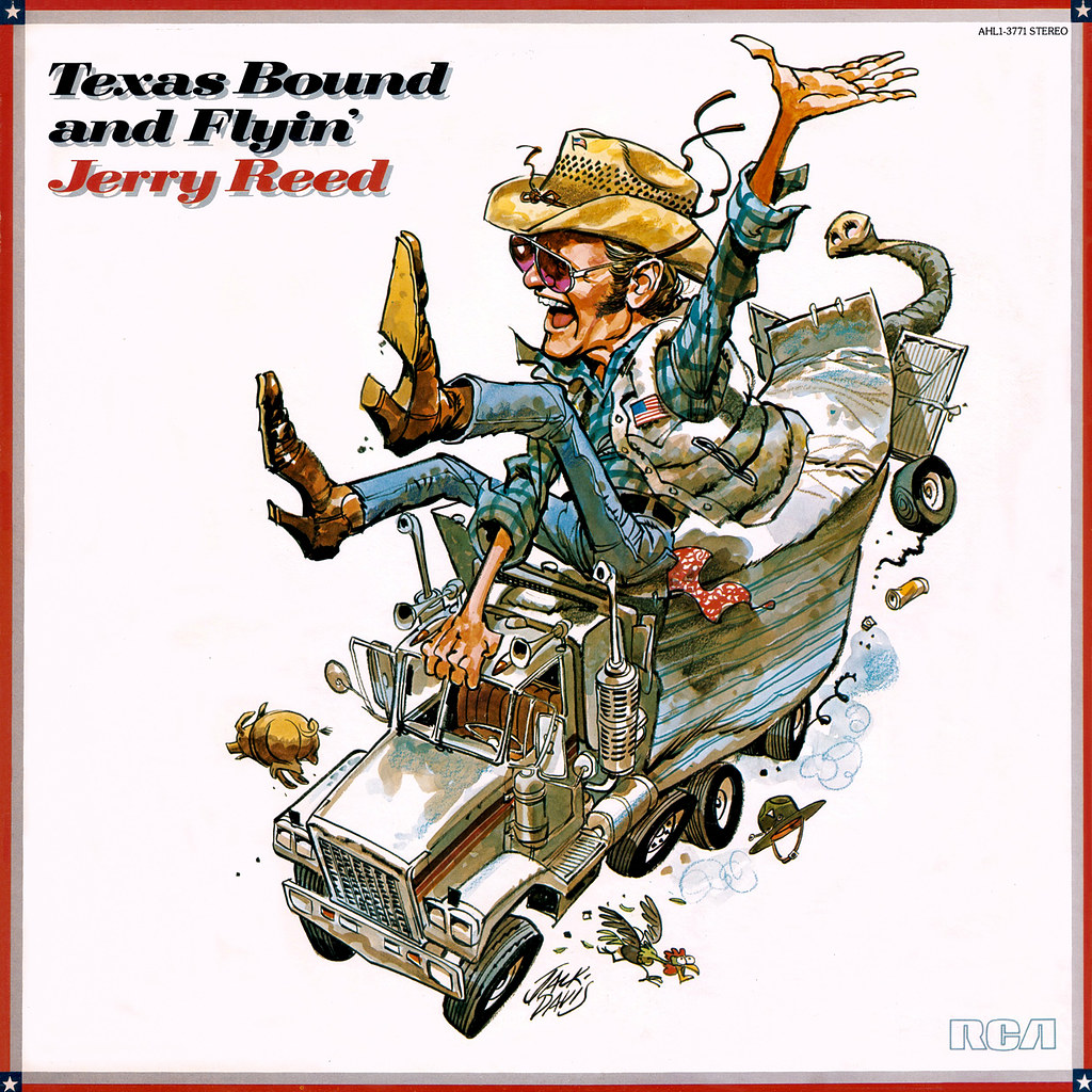 Jerry Reed - Texas Bound and Flyin'