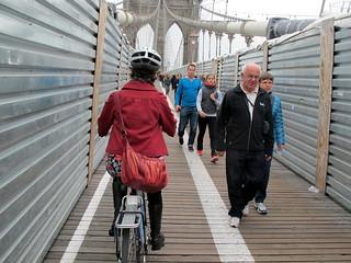 Brooklyn Bridge Metal Tunnel