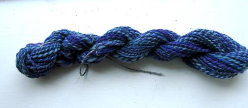 Finished yarn