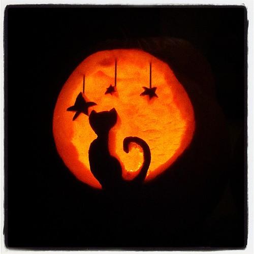 Margie's pumpkin.