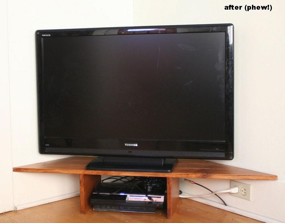 tv stand landscape
