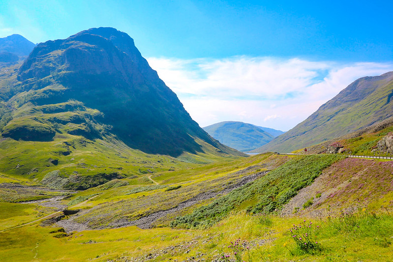 Scottish highlands and Glencoe, Scotland