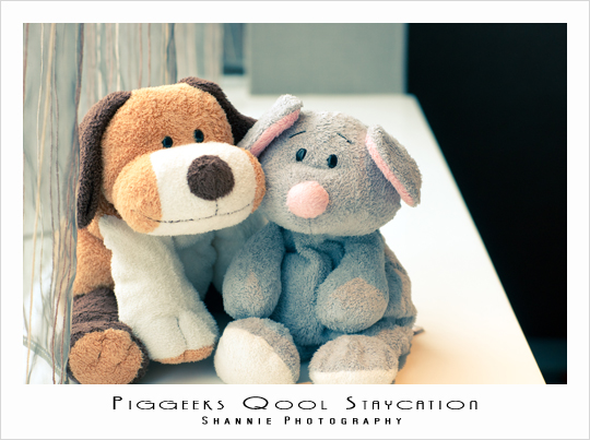 BB and GG, our most well-travelled soft toys