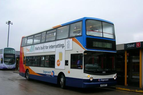 Stagecoach Manchester, Dennis Trident V170 DFT, Alexander body