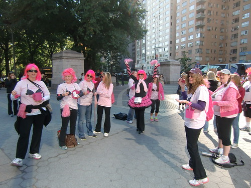 Avon Walk for Breast Cancer 2012 in NYC