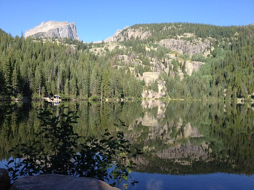 Bear Lake in the Rocky Mountains
