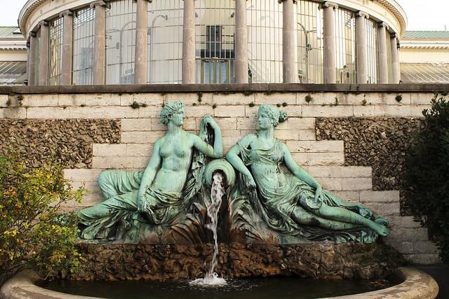 Les Deux Nymphes entourant une Source, François Rude