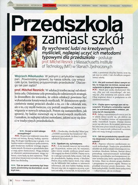 Focus 2011-09 prof. Mitchel Resnick