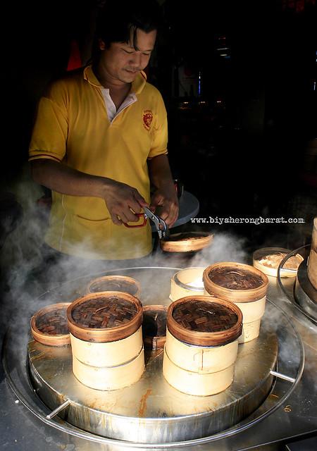 Dimsum in Chinatown Kuala Lumpur Malaysia