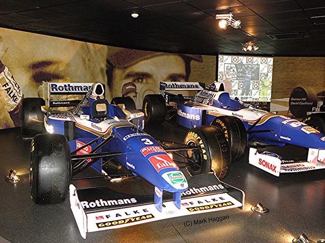 Damon Hill's 1996 FW18