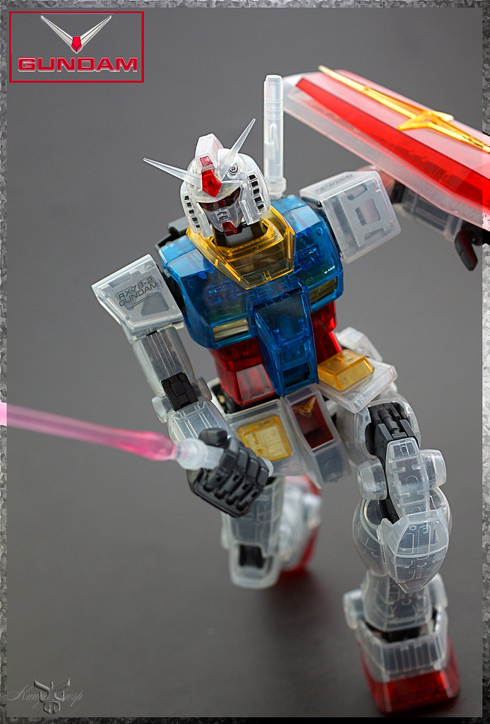MG RX-78-2 Gundam Ver. 2.0 Color Clear Edition