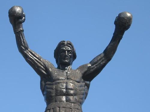 Rocky Balboa spomenik u Žitištu