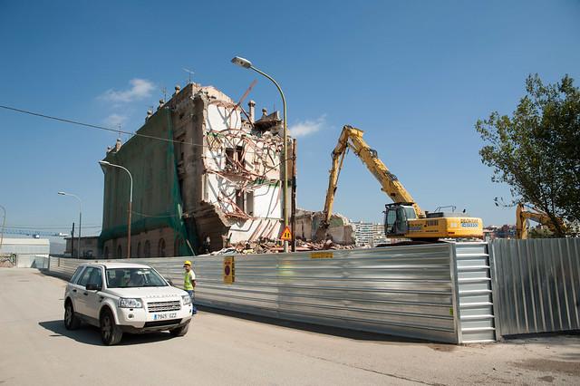 Demolicion edificio ferroviarios junto PIAC_8