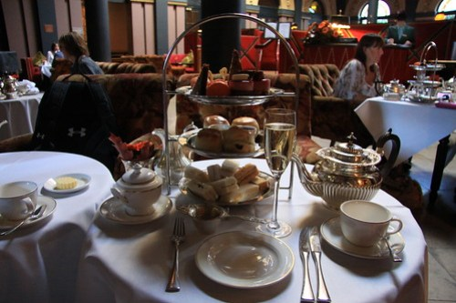 (Ireland) HIgh Tea @ Merchant Hotel