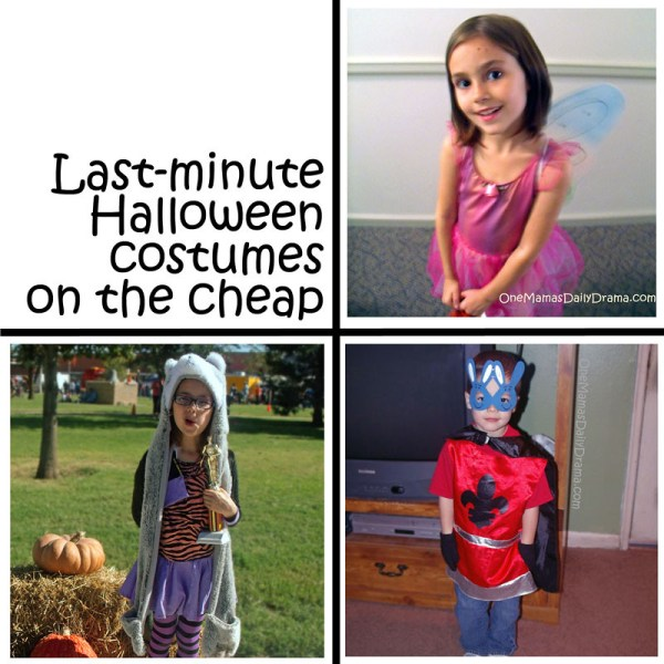 Last-minute Halloween costumes on the cheap | One Mama's Daily Drama