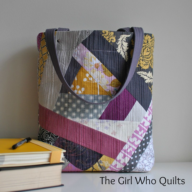Modern Quilted Tote
