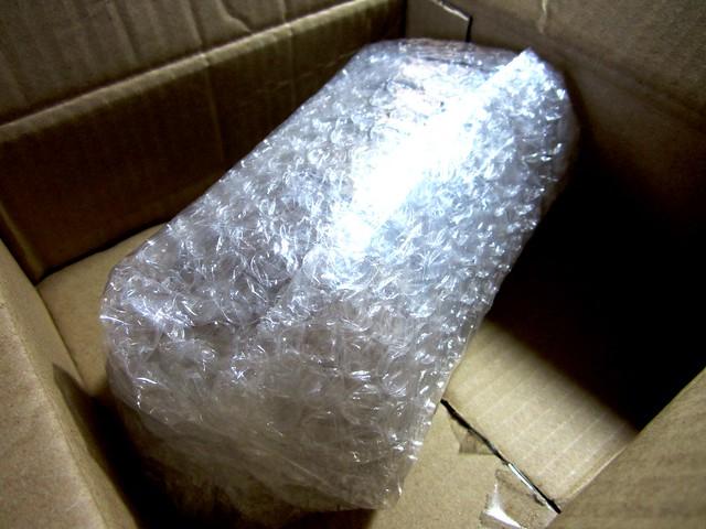 Bubble-wrapped