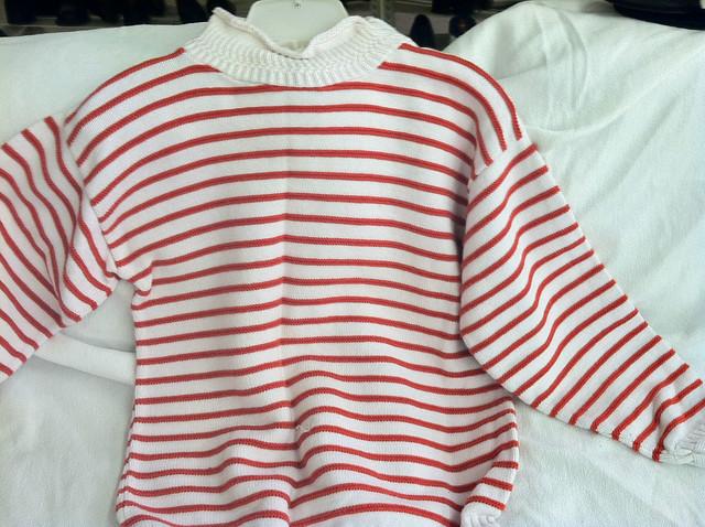 halloween costume thrift wheres waldo red stripe shirt