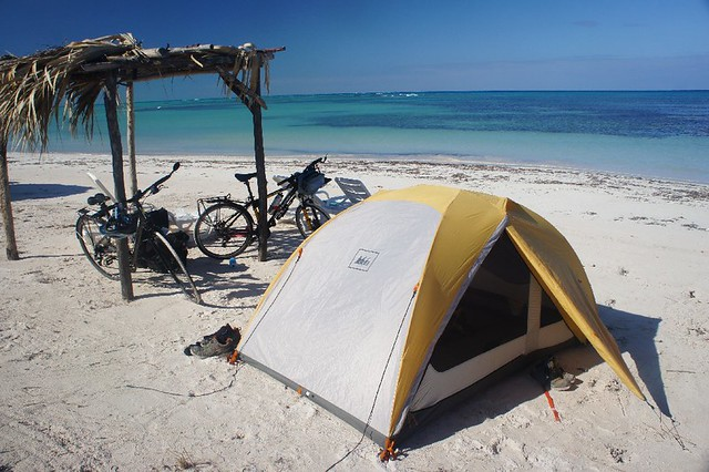 Camping On The Beach In Cuba