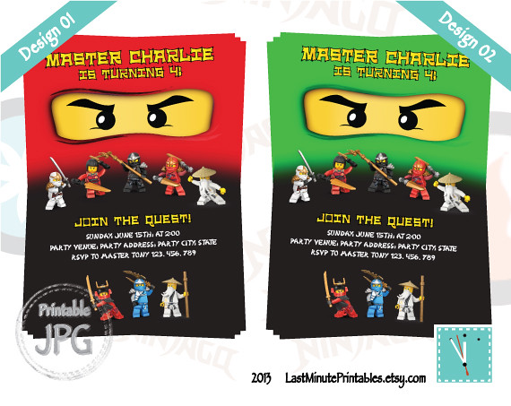 USD 6.99, Ninjago invitation, ninjago eye, ninjago invite, ninja invitation, lego invitation, ninjago, lego, lego printable, ninjago birthday, ninja
